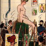 A l'atelier de Georges Courteline