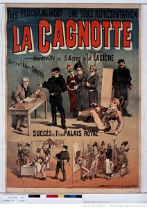 Affiche de 1888. Source : BnF/ Gallica