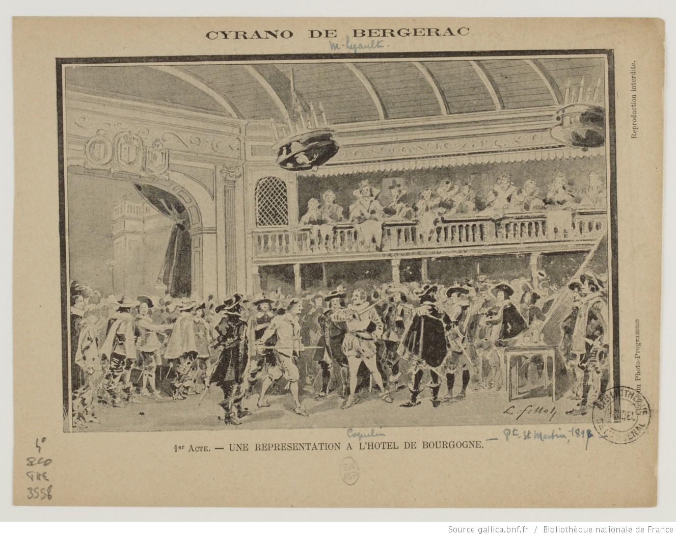Cyrano De Bergerac D U0026 39 Edmond Rostand