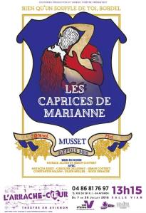 Les Caprices de Marianne à Avignon