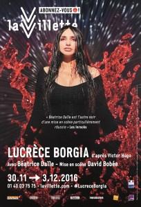 Lucrèce Borgia, mise en scène par David Bobée