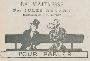 La Maîtresse de Jules Renard