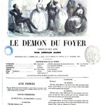 Le Démon du Foyer de George Sand