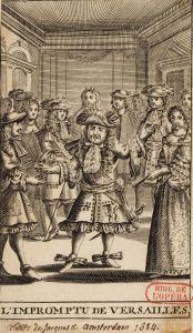 L'Impromptu de Versailles de Molière