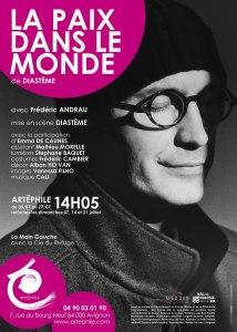 La Paix dans le monde de Diastème, avec Frédéric Andrau