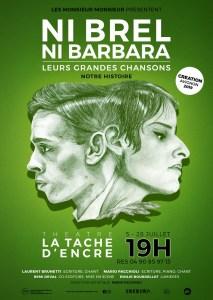 Ni Brel ni Barbara par la Compagnie Les Monsieur Monsieur