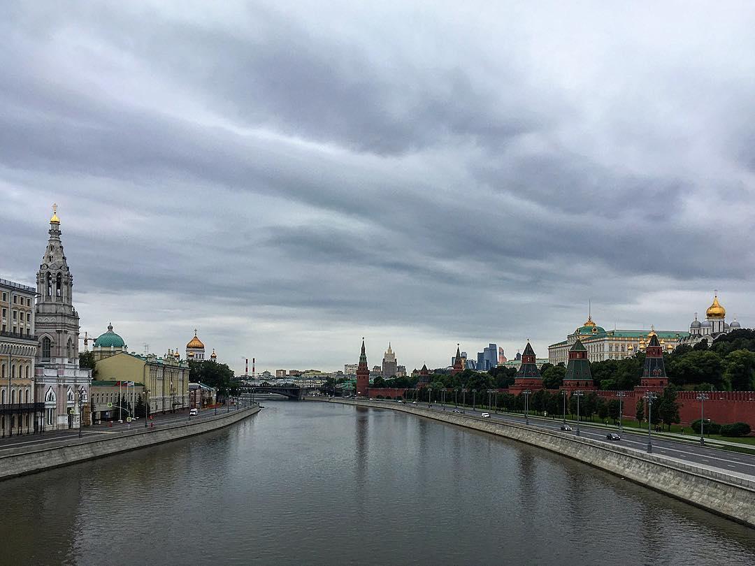 Moscou, Russie. La Moskva.