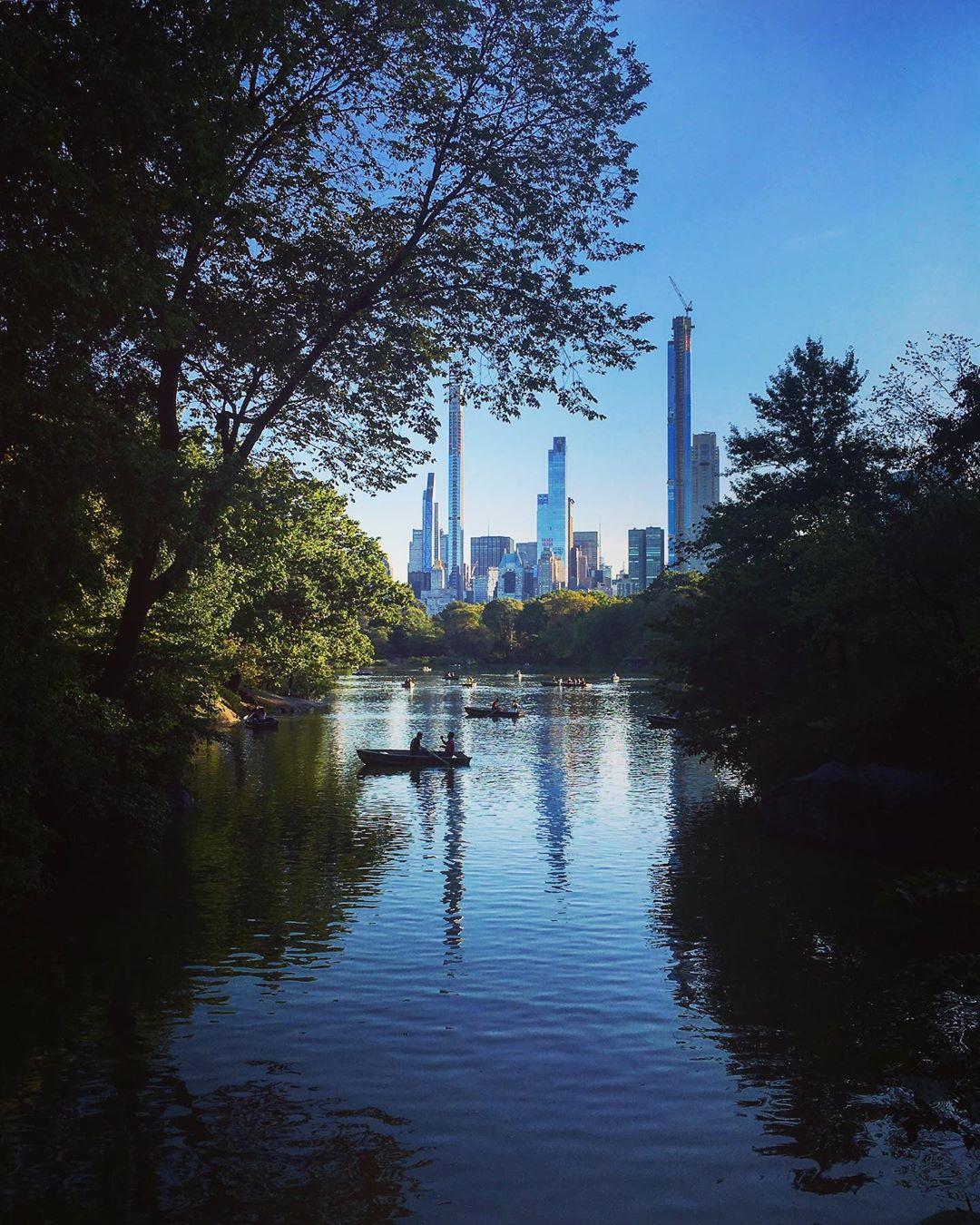 Central Park, Manhattan, New York, États-Unis.