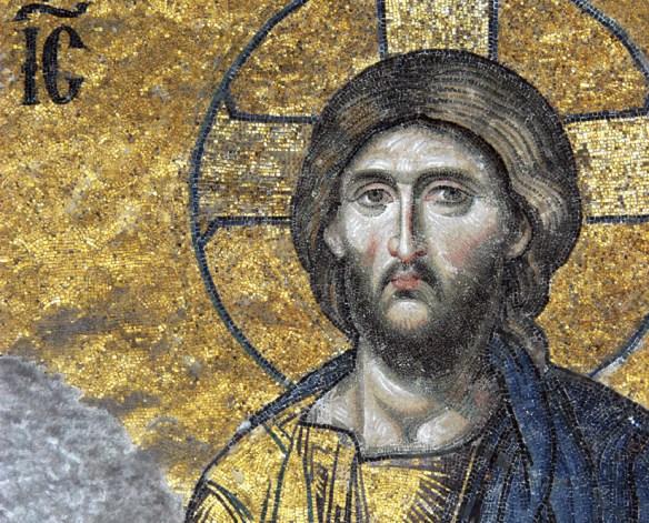 mosaic of Jesus Christ, Hagia Sophia, c. 1261