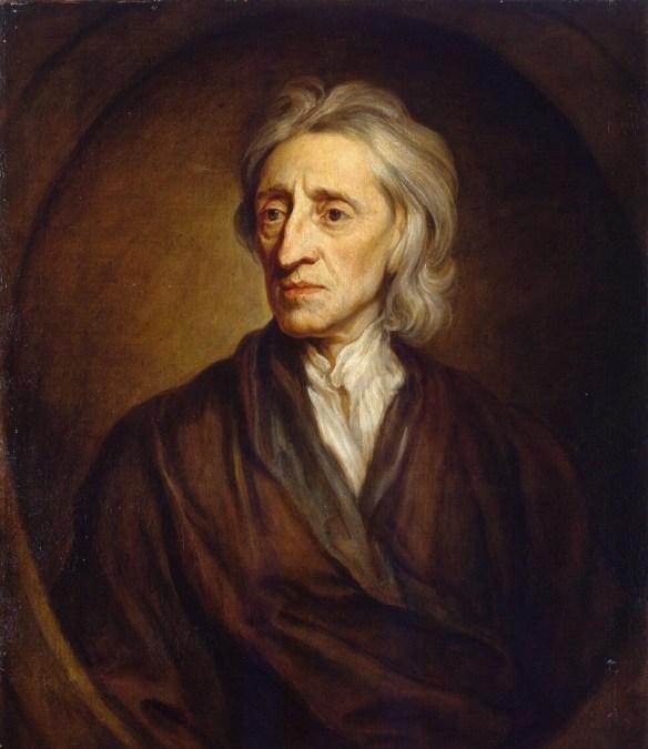 Portrait of John Locke, 1697, by Sir Godfrey Kneller