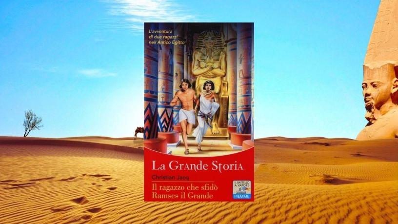 il ragazzo che sfidò Ramses il Grande @Libringioco