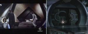 Due scene dal film  Pianeta Poribito