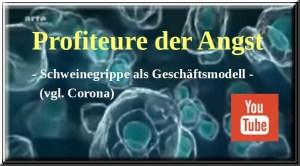 Profiteure der Angst | Schweinegrippe als Geschäftsmodell ... vgl. Corona