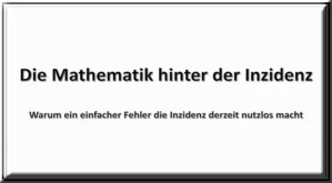 Patrick Schönherr | Absolute RKI-Inzidenzwerte sind keine geeignete Bemessungsgrundlage