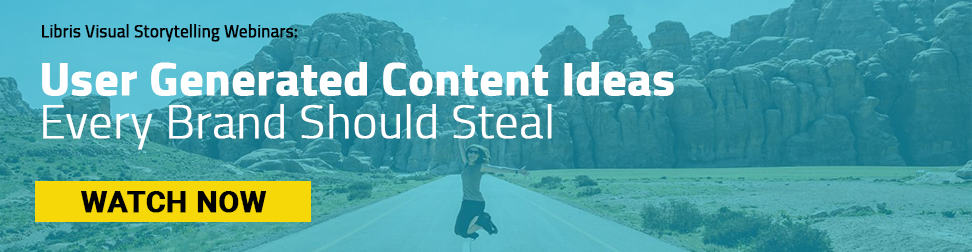 On-Demand Webinar: User Generated Content Ideas Every Brand Should Steal via Crowdriff and Libris by PhotoShelter