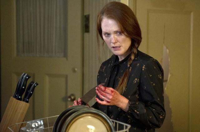 Julianne Moore è Margaret White nel film di Kimberly Peirce