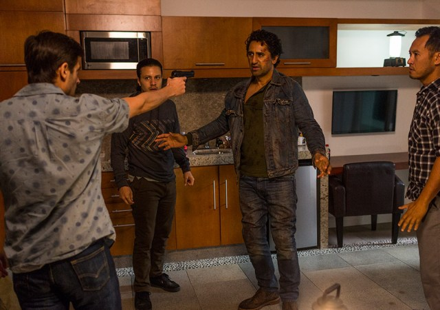 Cliff Curtis in Fear The Walking Dead