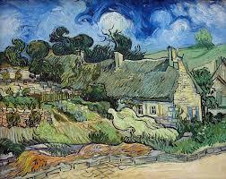 Casolari a Cordeville di Vincent van Gogh