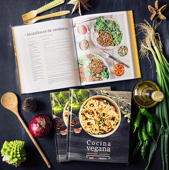 Libro Cocina Vegana, ed. Anaya/Oberon. Por Virginia García y Lucía Martínez