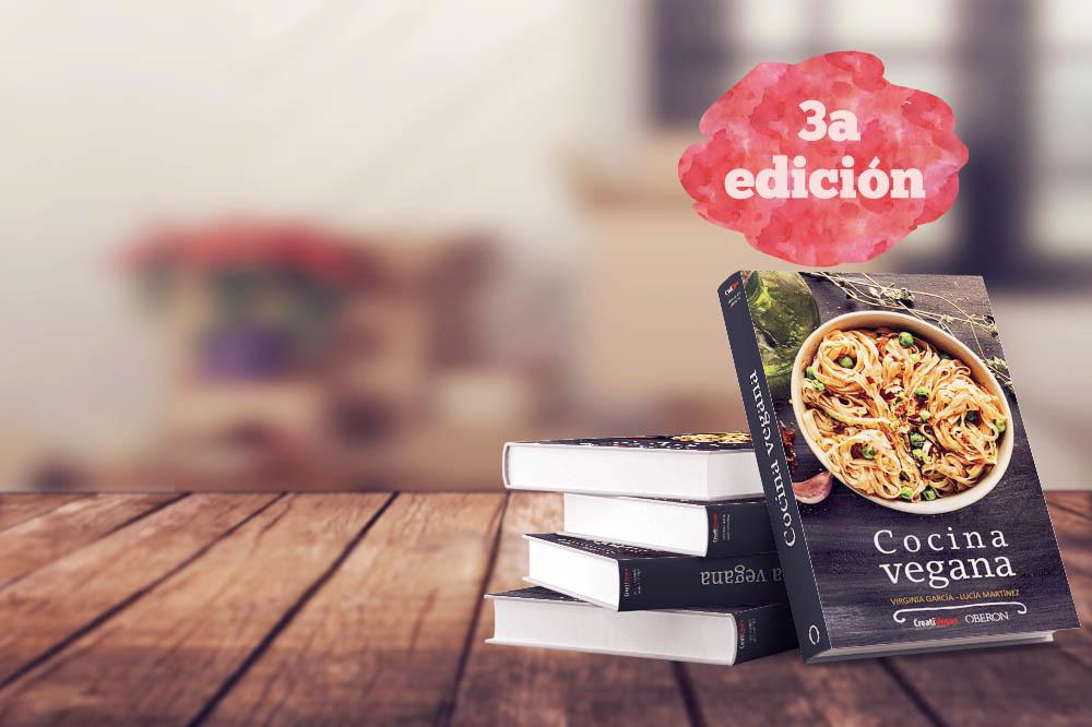 Libro Cocina Vegana 3ª edición