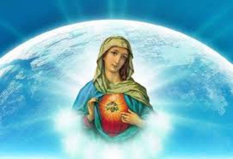 María con corazón