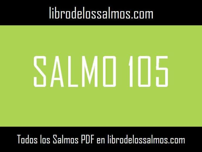 salmo 105