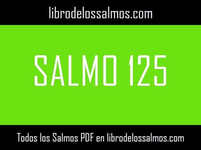 salmo 125