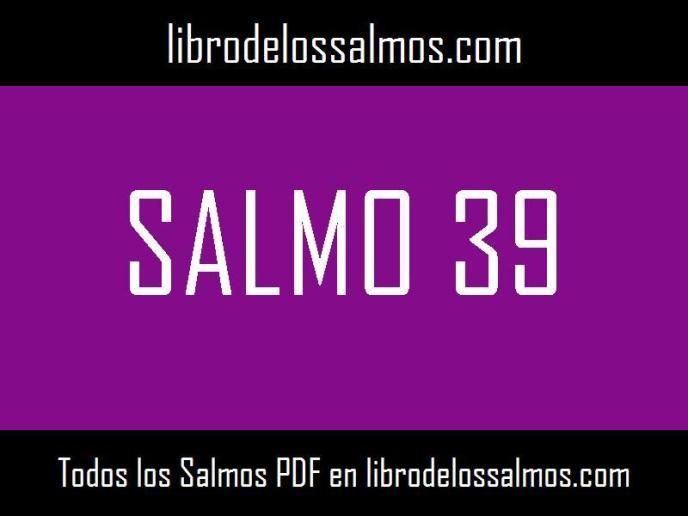 salmo 39