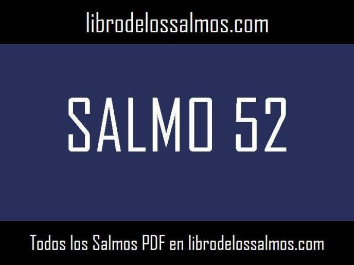 salmo 52