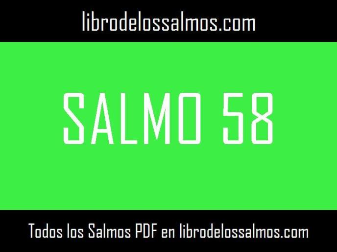 salmo 58