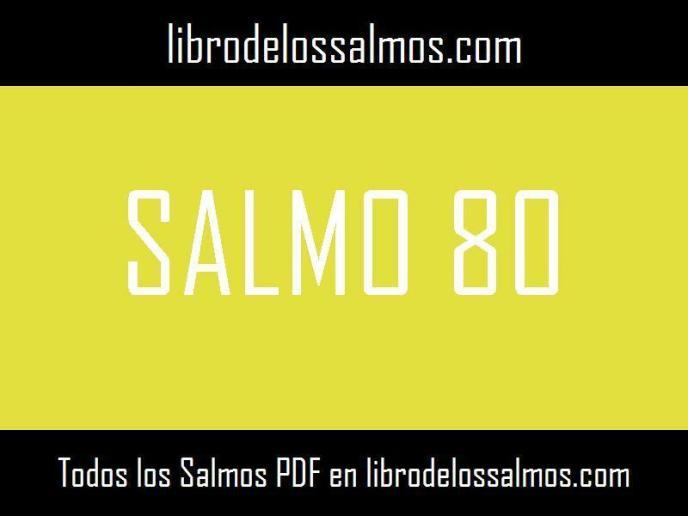 salmo 80