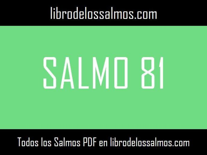 salmo 81