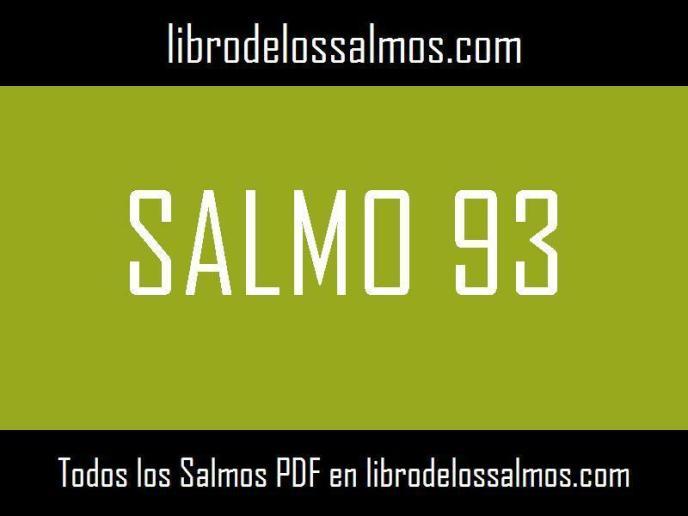 salmo 93