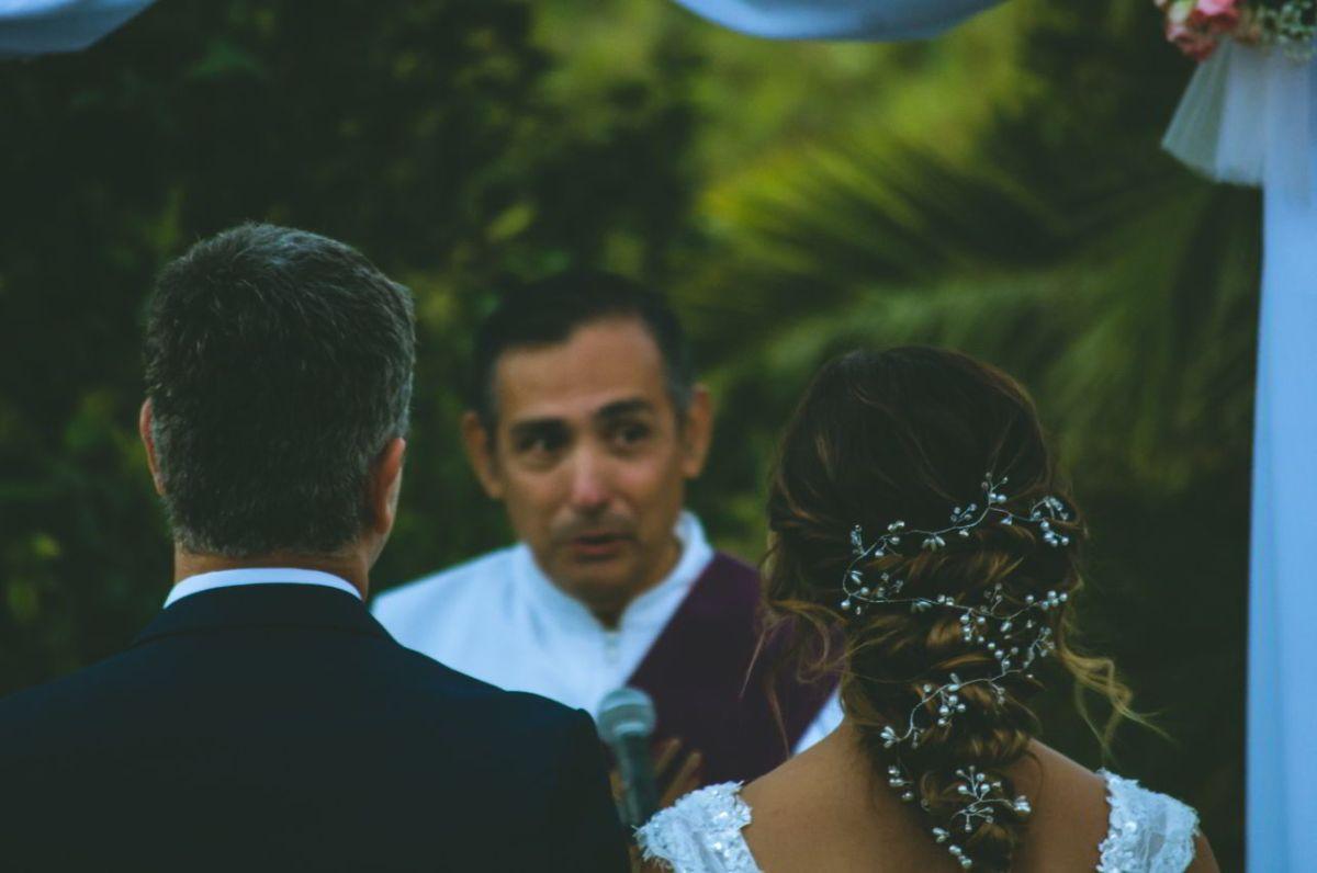 Pareja casamiento boda