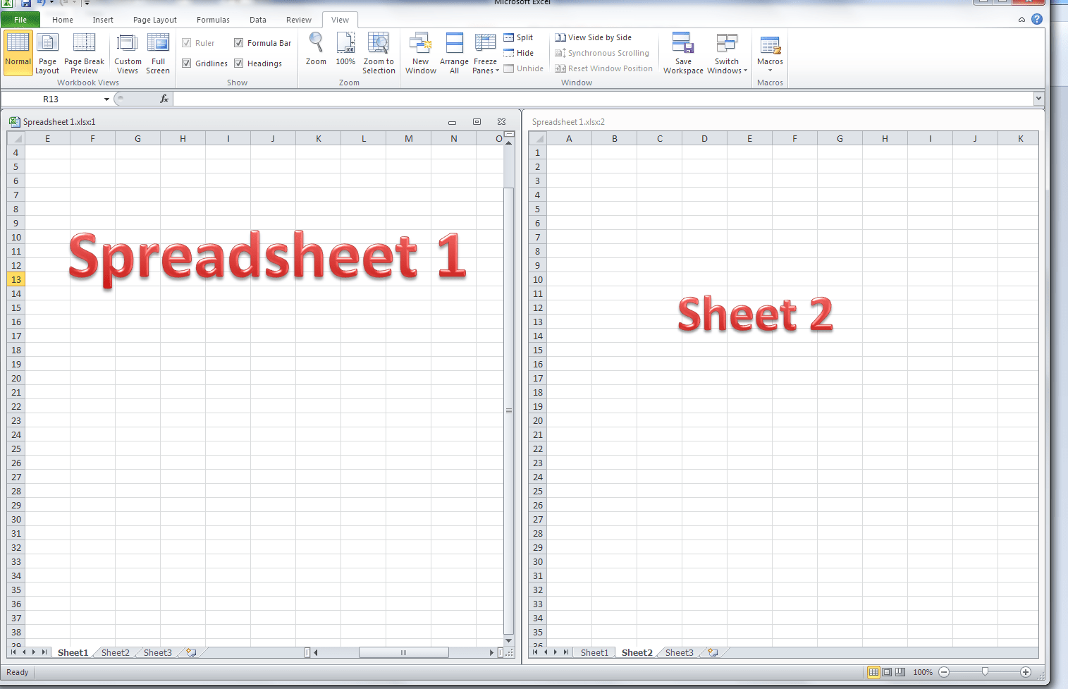 Excel Workbook Vs Worksheet Vs Spreadsheet