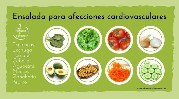 6 ensaladas idoneas para combatir 6 enfermedades