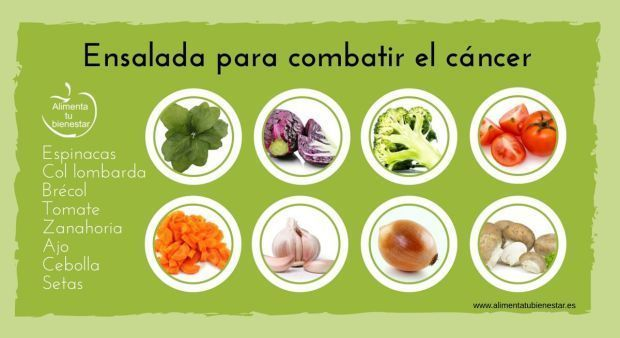 6 ensaladas perfectas para combatir enfermedades