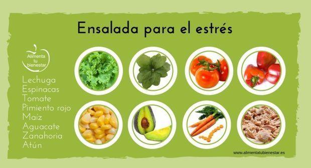 6 ensaladas perfectas para tratar 6 enfermedades
