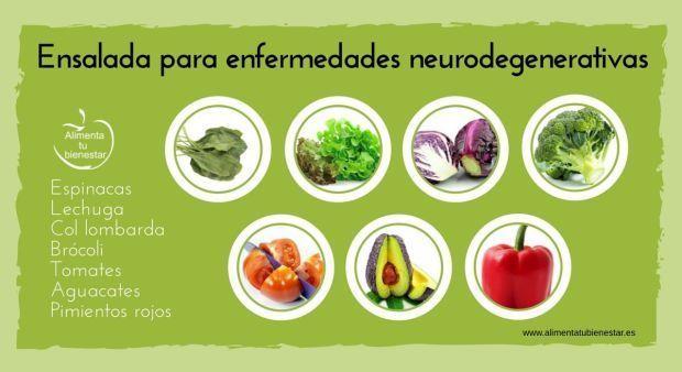 6 ensaladas perfectas para combatir enfermedades.