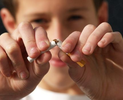 Medidas para dejar de fumar.