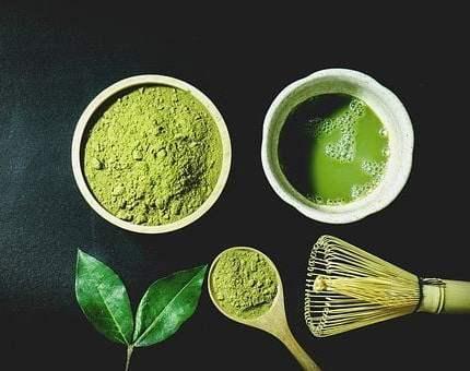 El Té matcha potente antioxidante.