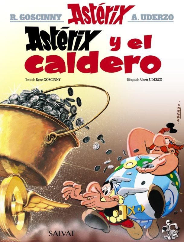 Astérix y el caldero (Castellano - A Partir De 10 Años - Astérix - La Colección Clásica) (Español) Tapa dura