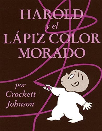 Harold y El Lápiz Color Morado (Colección Harper Arco Iris) (Español) Tapa blanda