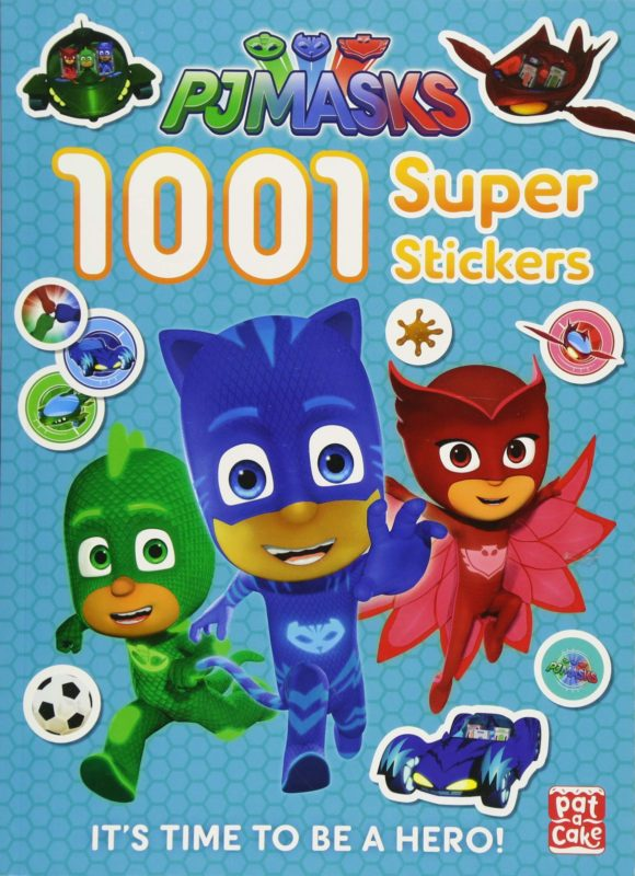 1001 Super Stickers (PJ Masks) (Inglés) Tapa blanda