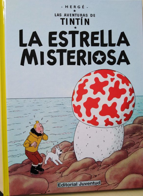 La estrella misteriosa - Las Aventuras de Tintín (Cartoné)