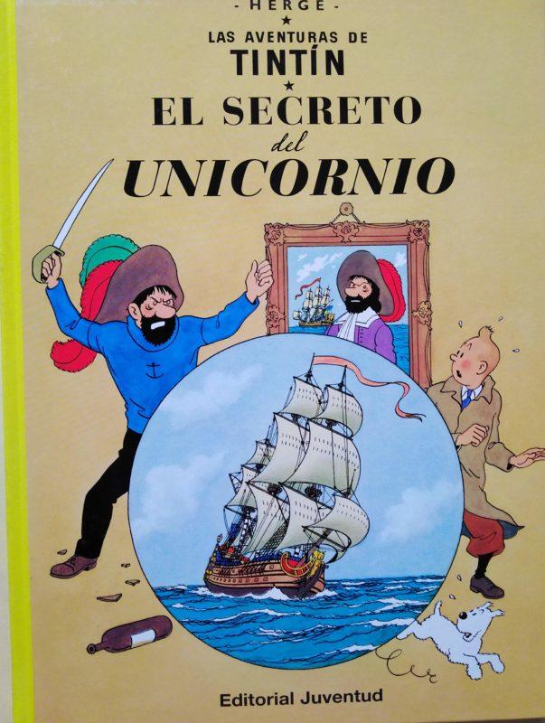 El secreto del Unicornio - Las Aventuras de Tintín (Cartoné)