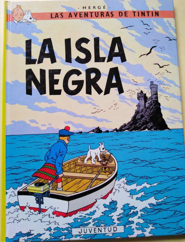 La isla Negra - Las Aventuras de Tintín (Cartoné)