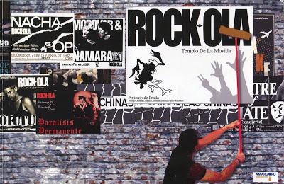 Una noche en el Rock-Ola. Antonio de Prada