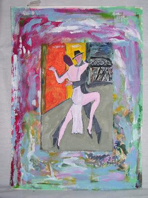 Nuevas pinturas latinoamericanas. Sergio Santini o la expresión tango. Por Sandra Ávila