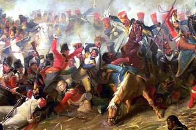 La batalla de Waterloo. Malcolm Larder